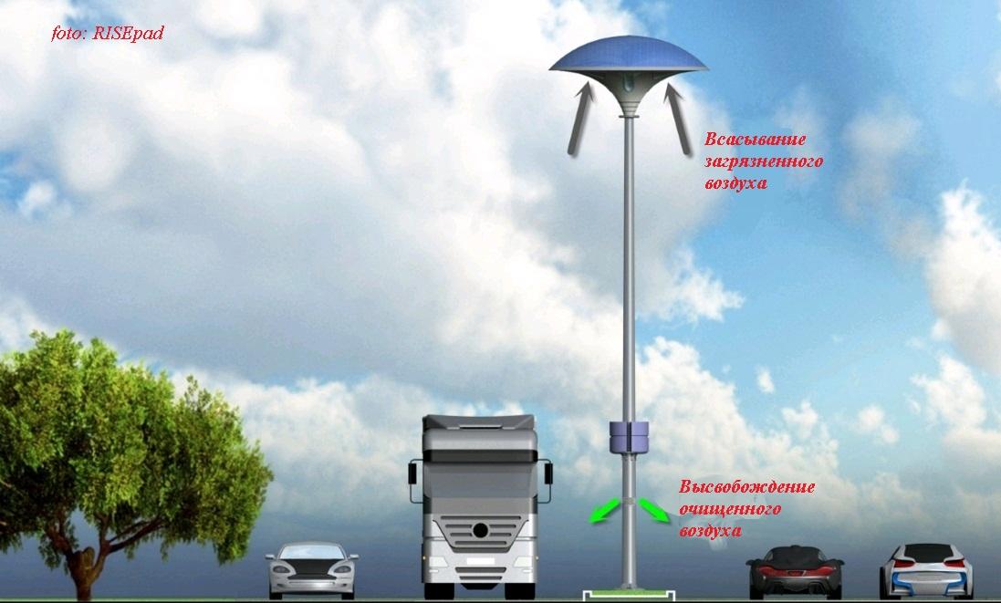 уличный светильник Eco Mushroom