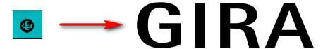 старый и новый логотипы GIRA