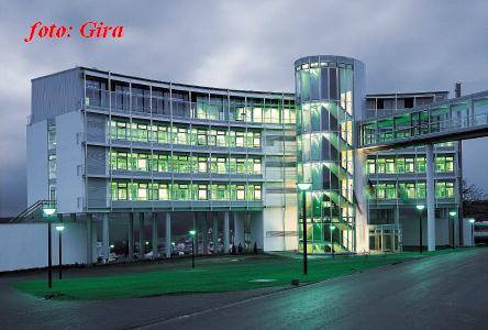 здание отдела продаж GIRA
