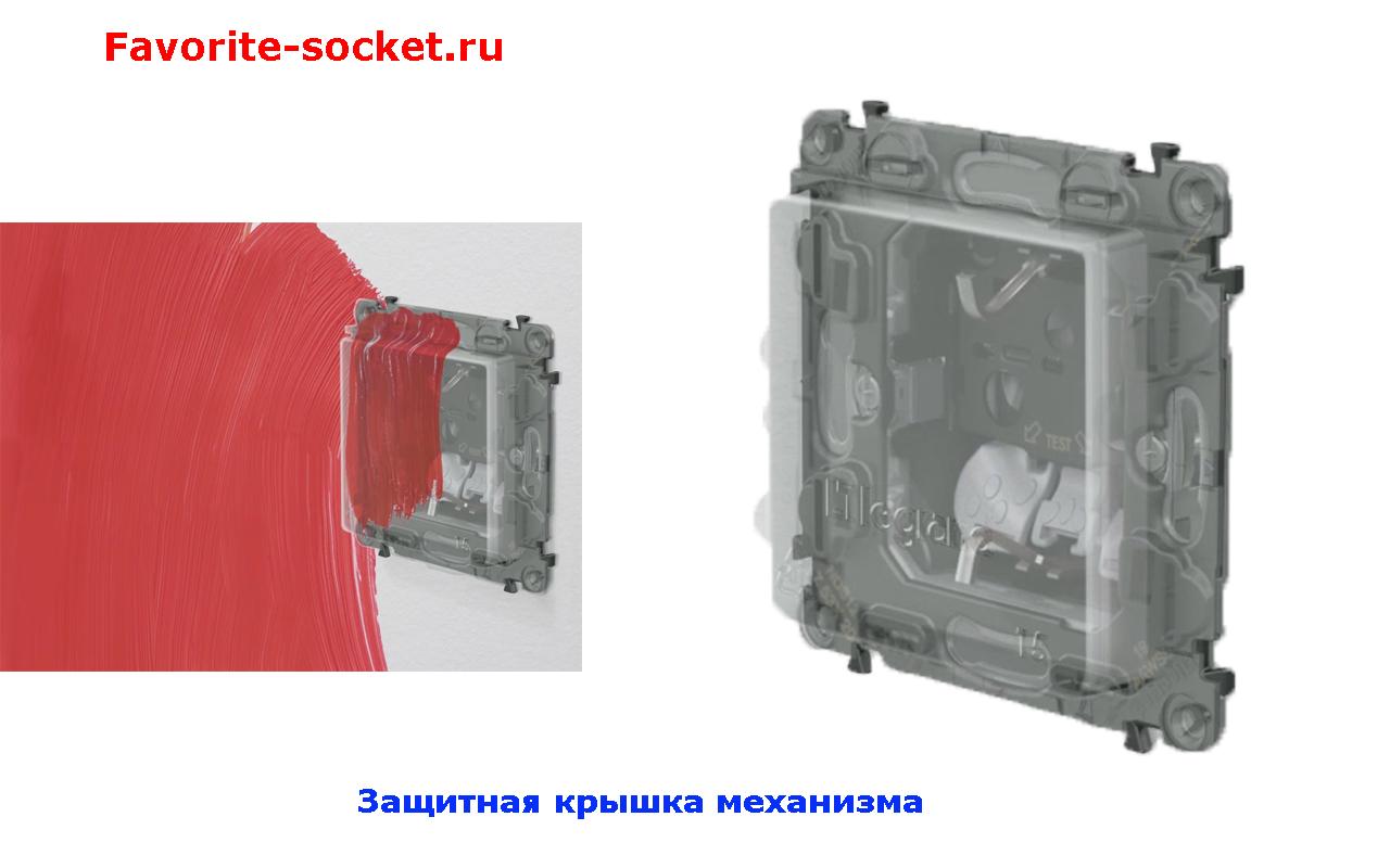 Защитная крышка механизма InMatic