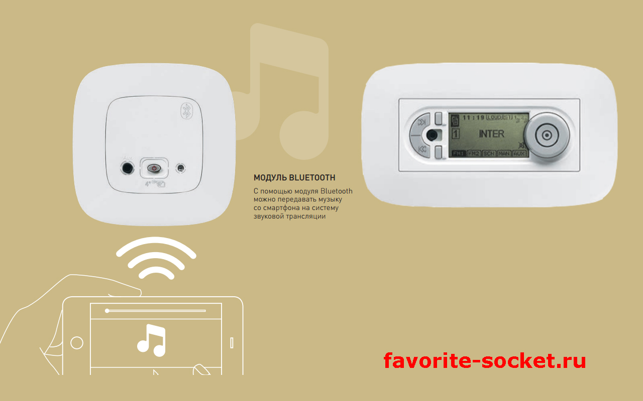 Модуль Bluetooth серии Valena Allure